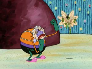 Mermaid Man's Epic Brawl With The Moth