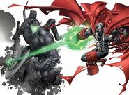 Spawn vs Urizen from Spawn Origins