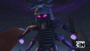 The Overlord in battle
