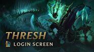 Thresh, the Chain Warden Login Screen - League of Legends