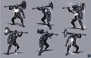 Elemental Talos Juggernaut six concept