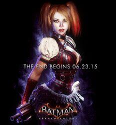 Harley Quinn Batman-ArkhamKnight promoad