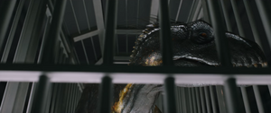 Indoraptor in cage 2