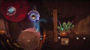 LittleBIGPlanet (720p HD) Walkthrough Part 44 - The Mines - Initial & Aced