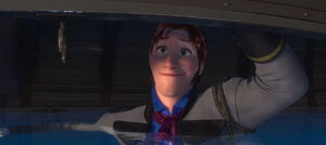 Wet Hans smile
