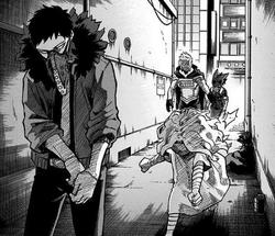 Chisaki's Encounter With Mirio and Midoriya