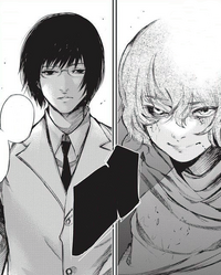 Eto and Arima's confrontation