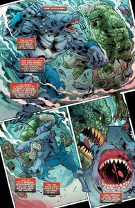 Killer Croc vs King Shark