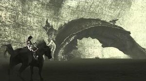 Shadow of the Colossus Dirge Boss Fight - 10th Colossus (PS3 1080p)