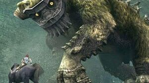 Shadow of the Colossus Quadratus Boss Fight - 2nd Colossus (PS3 1080p)