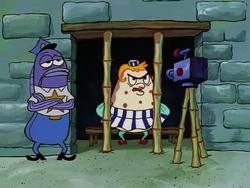 SpongeBob SquarePants Mrs. Puff in Jail