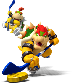 Bowser family Ice hockey