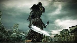 Dark Souls 2 Giant Lord Boss Fight (4K 60fps)