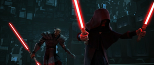 Darth Sidious finisher