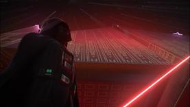 Darth Vader halts