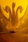 Godzilla King of the Monsters - Ghidorah poster - Clear keyart