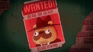 Paulie Wanted Poster
