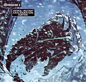 Predator X from New X-Men Vol 2 43 0001