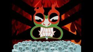 Samurai Jack S1Ep2-Aku's rule in the future