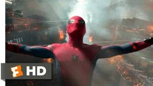 Spider-Man Homecoming (2017) - Ferry Fight Scene (5 10) Movieclips
