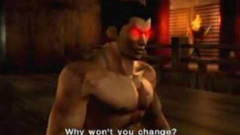 Tekken 4 Kazuya Ending