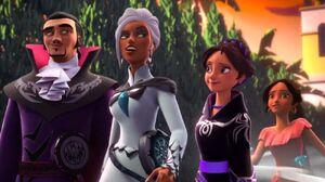 Three wizards have elena