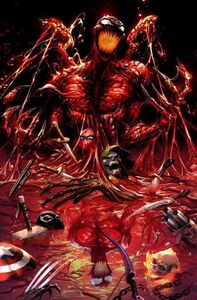 Absolute Carnage Vol 1 1 Kirkham Variant Textless