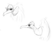 Cyclop vulture art