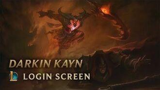 Darkin Kayn, the Shadow Reaper Login Screen - League of Legends
