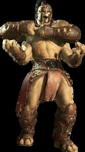 Goro kuatan warrior mortal kombat x render by xxkyrarosalesxx-d8tj7xm