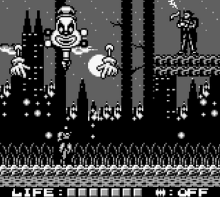 Joker (Final Boss of Batman - The Animated Series for gameboy)