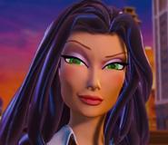 Lady X's Evil grin
