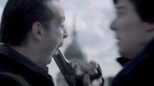 Moriarty kills himself