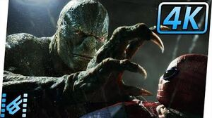 Spider-Man vs Lizard Sewer Fight The Amazing Spider-Man (2012) Movie Clip