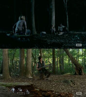 The-Walking-Dead-Lizzie-kills-rabbits-(Brighton-Sharbino)