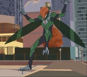 Vulture Marvel Spiderman 2017 cartoon