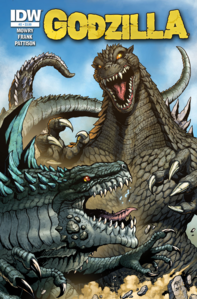 Zilla vs Godzilla RoE issue 2