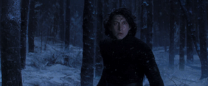 Kylo Ren in awe