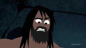 Samurai Jack Jack Kills 1 Of The Daughters of Aku