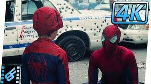 Spider-Man vs Rhino Ending Scene The Amazing Spider-Man 2 (2014) Movie Clip