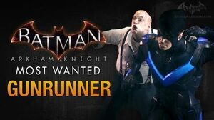 Batman Arkham Knight - Gunrunner (Penguin)