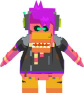 Cadence Bot corrupted sprite