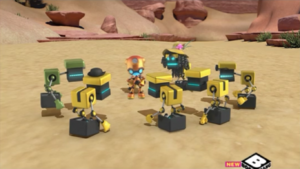 D-Fekt rallies the Cubots