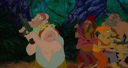 Pirates from The Pagemaster
