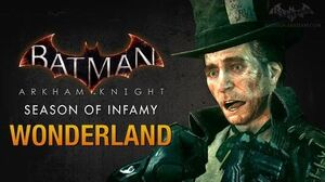 Batman Arkham Knight - Season of Infamy Wonderland (Mad Hatter)