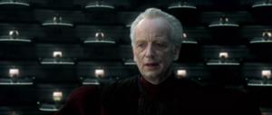 Chancellor Palpatine dismisses