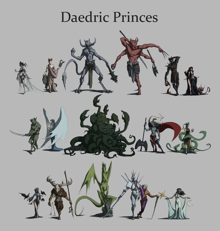 Daedric Princes | Villains Wiki | Fandom