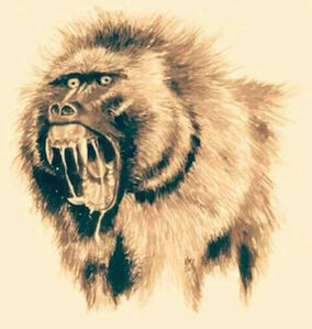 Devil Monkey Face