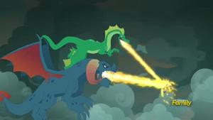 Dragon Lord Torch Battle