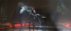 Kylo's private quarters concept art